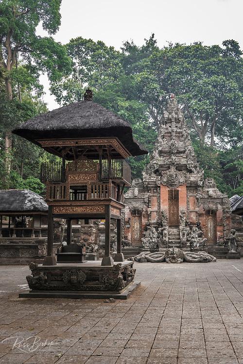 Pura Dalem Agung Padangtegal (Hindu temple of Death), Sacred Monkey Forest Sanctuary, Ubud, Bali, Indonesia