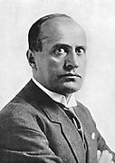 Benito Mussolini  (1883-1945) - 'Il Duce' - Italian fascist dictator.
