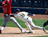 MLB-Los Angeles Angels at Milwaukee Brewers-Mar 8, 2021