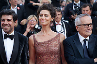 Actor Pierfrancesco Favino, Actress Maria Fernanda Cândido and Director Marco Bellocchio at the The Traitor (Il Traditore) gala screening at the 72nd Cannes Film Festival Thursday 23rd May 2019, Cannes, France. Photo credit: Doreen Kennedy