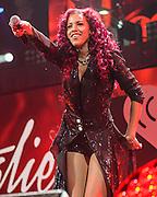 NATALIE LA ROSE performs at the Hot 99.5 Jingle Ball at the Verizon Center in Washington, D.C.