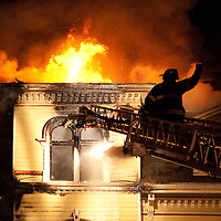 Newton 4 Alarm Fire - 56 Waverly Ave