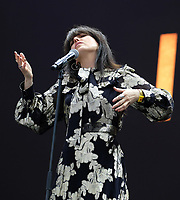 Imelda May,at the Isle of Wight Festival, Newport, IOW photo by Dawn Fletcher -Park<br /> <br /> 2021, band, festival, festival iow, hampshire, iow, isle of wight, live, live music, music, musicial, s, singer, uk