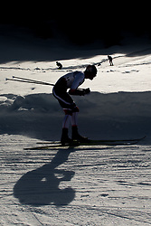 February 2, 2018 - Goms, SWITZERLAND - 180202 Jan Thomas Jenssen of Norway competes in the men's 15/15 km skiathlon during the FIS U23 Cross-Country World Ski Championships on February 2, 2018 in Obergoms..Photo: Vegard Wivestad GrÂ¿tt / BILDBYRN / kod VG / 170096 (Credit Image: © Vegard Wivestad Gr¯Tt/Bildbyran via ZUMA Press)