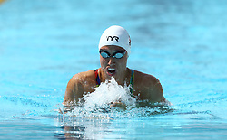 June 23, 2017 - Rome, Italy - Rikke Moeller Pedersen (DEN) competes in Women's 100 m Breaststroke during the international swimming competition Trofeo Settecolli at Piscine del Foro Italico in Rome, Italy on June 23, 2017..Photo Matteo Ciambelli / NurPhoto  (Credit Image: © Matteo Ciambelli/NurPhoto via ZUMA Press)