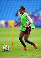 Paris Saint-Germain's Aminata Diallo<br /> <br /> Photographer Kevin Barnes/CameraSport<br /> <br /> UEFA Women's Champions League Final - Pre match training session - Lyon Women v Paris Saint-Germain Women - Wednesday 31st May 2017 - Cardiff City Stadium<br />  <br /> World Copyright © 2017 CameraSport. All rights reserved. 43 Linden Ave. Countesthorpe. Leicester. England. LE8 5PG - Tel: +44 (0) 116 277 4147 - admin@camerasport.com - www.camerasport.com