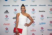 British artistic gymnast Becky Downie at Team GB's annual ball at Old Billingsgate on the 21st November 2019 in London in the United Kingdom.