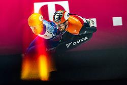 Itzhak de Laat of Netherlands silver on 1500 meter during ISU World Short Track speed skating Championships on March 06, 2021 in Dordrecht