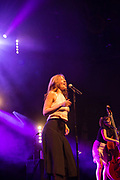 Brooklyn, NY – 7 June 2017. Brooklyn-based Lake Street Dive opened the 2017 season of the BRIC Celebrate Brooklyn! Festival at the Prospect Park Bandshell to a packed venue. The band features Rachel Price on lead vocals; also on stage is bassist Bridget Kearney.