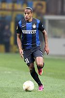 "Alvaro Pereira Inter.Milano 14/02/2013 Stadio ""San Siro"".Football Calcio UEFA Europa League 2012/13.Inter v Cluj.Foto Insidefoto Paolo Nucci."