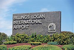 Billings Logan Airport Sign