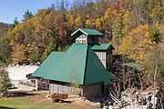 The old emerald mining site of Emerald Village, North Carolina.