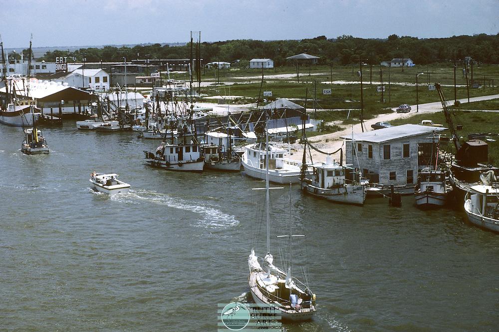 1979-Kemah, Texas waterfront