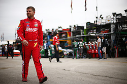 November 16, 2018 - Homestead, Florida, U.S. - Justin Allgaier (7) hangs out in the garage during practice for the Ford 300 at Homestead-Miami Speedway in Homestead, Florida. (Credit Image: © Justin R. Noe Asp Inc/ASP)