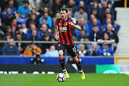 Adam Smith of Bournemouth in action. Premier league match, Everton vs Bournemouth at Goodison Park in Liverpool, Merseyside on Saturday 23rd September 2017.<br /> pic by Chris Stading, Andrew Orchard sports photography.