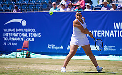 LIVERPOOL, ENGLAND - Sunday, June 24, 2018: Marion Bartolli (FRA) during day four of the Williams BMW Liverpool International Tennis Tournament 2018 at Aigburth Cricket Club. (Pic by Paul Greenwood/Propaganda)