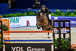 Van Der Vleuten Eric, NED, Djoost Again<br /> Jumping Amsterdam 2019<br /> © Hippo Foto - Dirk Caremans<br /> 25/01/2019
