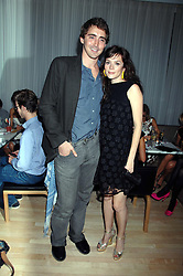 Actress ANNA FRIEL and actor LEE PACE at an Evening at Sanderson in Aid of CLIC Sargent held at The Sanderson Hotel, 50 Berners Street, London W1 on 15th May 2007.<br /><br />NON EXCLUSIVE - WORLD RIGHTS
