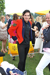 RICHARD DENNEN at the 2011 Veuve Clicquot Gold Cup Final at Cowdray Park, Midhurst, West Sussex on 17th July 2011.
