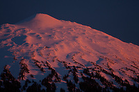 tree line and above on the west face of Mt bachelor