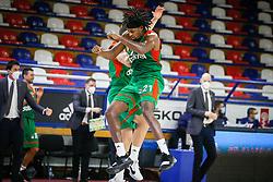 Jarrod Jones of Cedevita Olimpija during basketball match between KK FMP Zeleznik and KK Cedevita Olimpija in Round #6 of ABA League 2020/21, on December 30, 2020 in FMP Zeleznik Hall, Belgrade, Serbia. Photo By Ivica Veselinov / MN Press / Sportida
