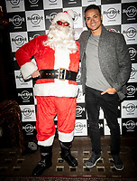 Louis Payne,at the Hard Rock Cafe celebrity-studded Christmas party for children's charity Fight For Life LONDON, 2 December 2019