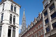 Brussels, Belgium in summer.