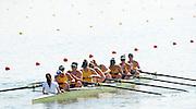 Eton Dorney, Windsor, Great Britain,..2012 London Olympic Regatta, Dorney Lake. Eton Rowing Centre, Berkshire[ Rowing]...Description; . AUS. M8+.  Start Area, Crews Training. 13:45:03   Wednesday  25/07/2012..[Mandatory Credit: Peter Spurrier/Intersport Images].