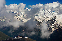 Russia, Caucasus. View from Mount Elbrus.
