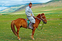Mongolie, province de Bayankhongor, campement nomade, Nyamsuren Jargal, 42 ans // Mongolia, Bayankhongor province, nomad camp, Nyamsuren Jargal, 42 years old