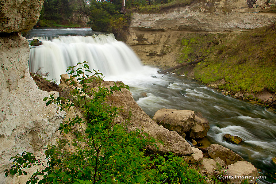 Snake River Falls in Cherry County, Nebraska, USA