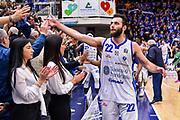 Stefano Gentile<br /> Banco di Sardegna Dinamo Sassari - Happy Casa Brindisi<br /> LBA Serie A Postemobile 2018-2019 Playoff Quarti di Finale Gara2<br /> Sassari, 20/05/2019<br /> Foto L.Canu / Ciamillo-Castoria