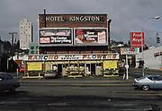 CS02535. Kingston Hotel, Rancho Flowers, SW 20th Ave & Burnside. March 1981
