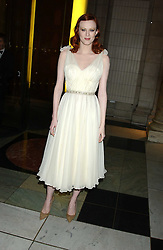 Model KAREN ELSON at the 2005 British Fashion Awards held at The V&A museum, London on 10th November 2005.<br /><br />NON EXCLUSIVE - WORLD RIGHTS