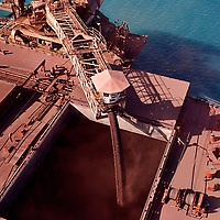 Iron ore ship loading in the Pilbara
