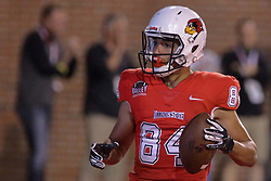 NORMAL, IL - September 08: Andrew Edgar during 107th Mid-America Classic college football game between the ISU (Illinois State University) Redbirds and the Eastern Illinois Panthers on September 08 2018 at Hancock Stadium in Normal, IL. (Photo by Alan Look)