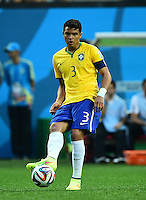 """Conmebol - Copa America CHILE 2015 / <br /> Brazil National Team - Preview Set // <br /> Thiago Emiliano da Silva """" Thiago Silva """""""