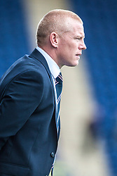 Falkirk's manager Gary Holt.<br /> Falkirk 3 v 1 Dundee, 21/9/2013.<br /> ©Michael Schofield.