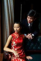 Chine, Shanghai, Long Haiet sa femme Yu XiaoYing (model released) //  China, Shanghai, (Long Haiand his wife Yu XiaoYing (MR available)