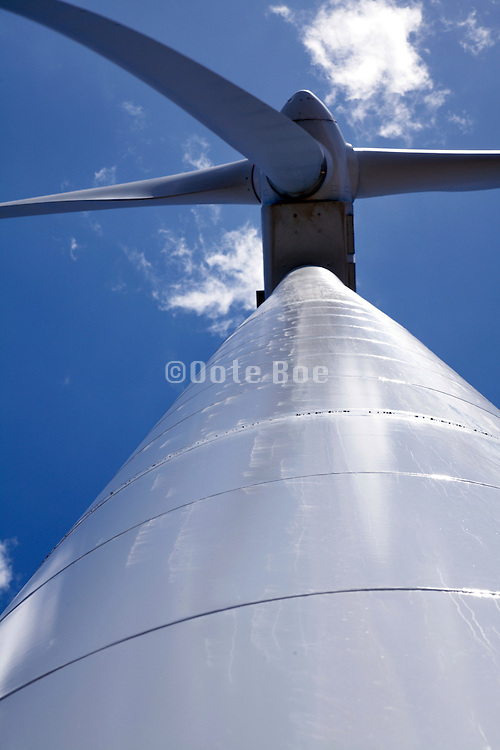 detail of a electric energy wind mill Andalusia Spain