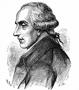 Pierre Simon Laplace (1749-1827), French mathematician and astronomer. [1881]. His five volume 'Mecanique celeste' 1799-1825 was the greatest work on celestial mechanics since Newton's 'Principia'. From 'A Popular History of Science' by Robert Routledge.