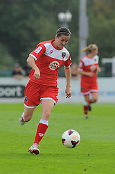 Bristol Academy Womens' Natalia Pablos Sanchon in action.- Photo mandatory by-line: Nizaam Jones- Mobile: 07583 387221 - 28/09/2014 - SPORT - Women's Football - Bristol - SGS Wise Campus - BAWFC v Man City Ladies - sport
