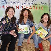NLD/Hilversum/20190425 - Presentatie 3e editie Boerderij voorleesboeken, Katja Schuurman en Lisa Wade