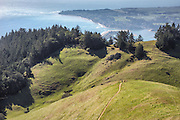 The Marin headlands, Mt. Tamalpaias in Marin county, northern California, about one hour from San Francisco.