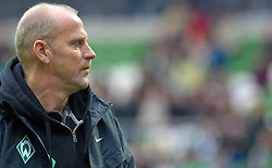 13.11.2010, Weser Stadion, Bremen, GER, 1.FBL, Werder Bremen vs 1. FC Eintracht Frankfurt im Bild Thomas Schaaf ( Werder  - Trainer  COACH)    EXPA Pictures © 2010, PhotoCredit: EXPA/ nph/  Kokenge+++++ ATTENTION - OUT OF GER +++++
