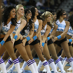 25 February 2009: during a 90-87 win by the New Orleans Hornets over the Detroit Pistons at the New Orleans Arena in New Orleans, Louisiana.