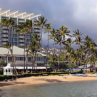 USA, Hawaii, Honolulu. The Kahala Resort on Oahu.