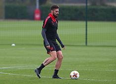 Arsenal Training and Press Conference - 01 November 2017