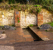 Chaveywell spring Calne, Wiltshire, England, UK 19th century town water supply