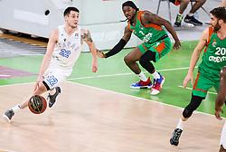 Martin Junakovic of Zadar during basketball match between KK Cedevita Olimpija (SLO) and KK Zadar (CRO) in Round #22 of ABA League 2020/21, on January 30, 2021 in Arena Stozice, Ljubljana, Slovenia.  Photo by Vid Ponikvar / Sportida